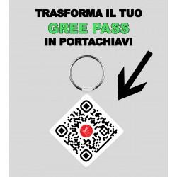 PORTACHIAVI GREEN PASS