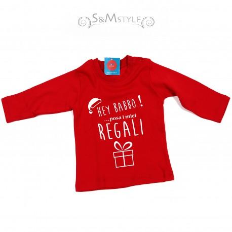 T-shirt Hey Babbo