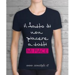 T.shirt donna-mi piace
