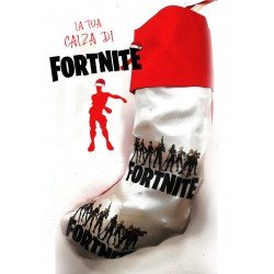 Calza befana fortnite