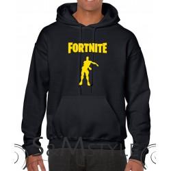 Felpa con Cappuccio Fortnite logo colorato