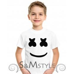 Maglietta Fortnite – volto Marshmello –