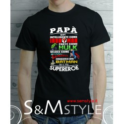t.shirt super papà