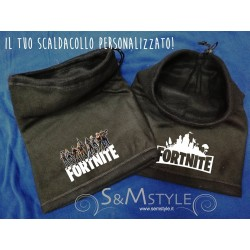 Scaldacollo Fortnite Personalizzabile